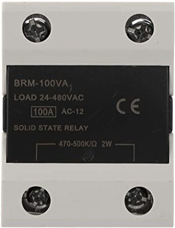 ASH-120VA 470Kohm 2W to 480VAC 120A Single Phase Solid State Relay