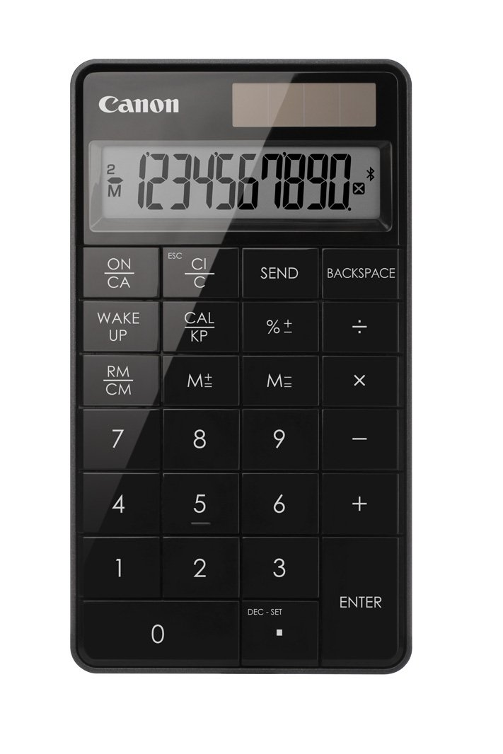 Canon Office Products 5093B001 X Mark I Wireless Keypad Calculator, Black