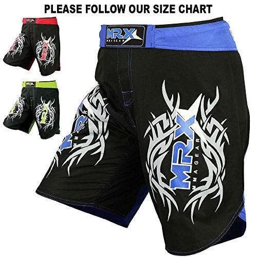 MRX MMA Shorts UFC Fight Training Clothing Cage Fighting Grappling Martial Arts Muay Thai Kickboxing