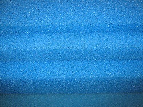 Lot de 3tapis Filtre, Filtre éponge, mousse, 50x 50x 3PPI 10/gros Hailea