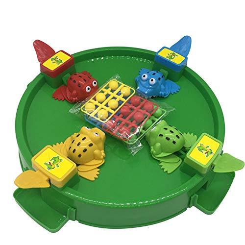 子供の教育玩具 3歳以上の子供に適しています ボードゲーム 2人用ゲーム カエルを使って豆をつかむ プラスチック材 Crocodileの商品画像