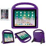 iPad 2/3/4 Kid-Proof Case - SUPLIK Durable Shockproof Protective Lightweight Handle Bumper St