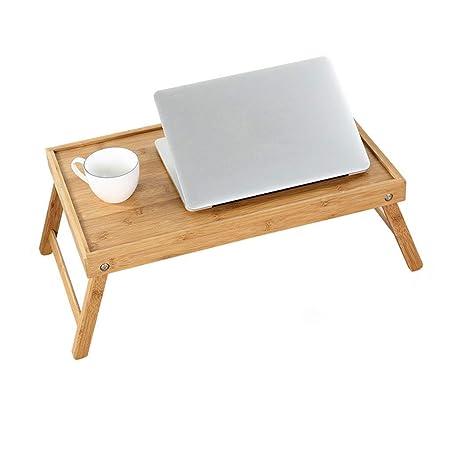 OhLt-j Mesa de madera, mesa de jardín, escritorio de computadora ...