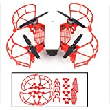 Hobby Signal Propeller Guards Bumpers & Landing Gear Stabilizers & Finger Hand Guards Protection Combo for DJI SPARK