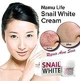 Snail White Snail Cream Regenerate Recovery Repairing Renew Facial Skin 50 Gram