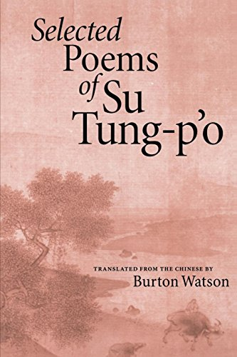 Selected Poems of Su Tung-P'o by Copper Canyon Press
