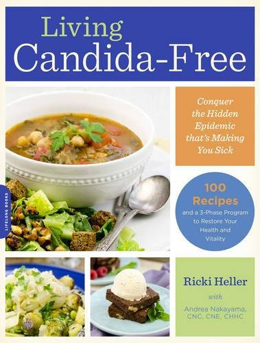 Living Candida Free Recipes 3 Stage Vitality product image