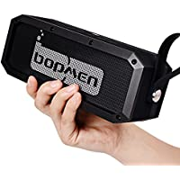 Bopmen Rugged Portable IPX6 Waterproof Water Resistant Dustproof Shockproof Wireless Bluetooth V4.1 Stereo Speaker,NFC,Super Bass,13 Hours Playtime,30W Outdoor Indoor Mini Speakers for Hiking,Cycling