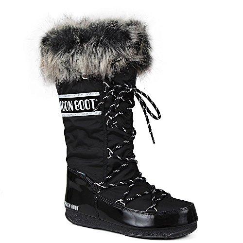 Tecnica Women's MB WE Monaco Boot,Black,41 EU/9.5 M US -