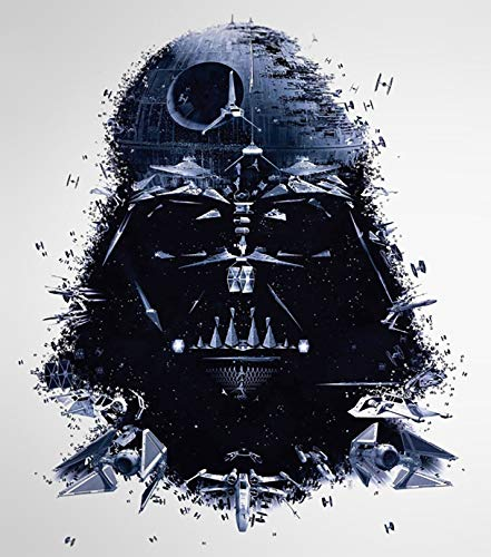 Star Wars Iron On Transfers - Star Wars Darth Vader Iron On Transfer for T-Shirts & Other Light Color Fabrics #1
