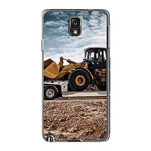 Samsung Galaxy Note 3 AZW1838IYQA Provide Private Custom Stylish Caterpillar Transport Series Bumper Hard Phone Covers -AshleySimms