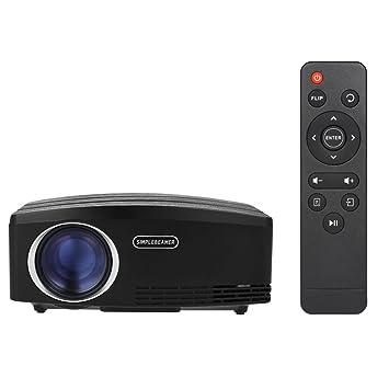 Walmeck - Proyector de vídeo para cine en casa con pantalla LCD ...