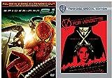 V for Vendetta VS Spider-Man 2.1 Marvel DVD - Web Slinger Super hero movie 2 Special Edition Set