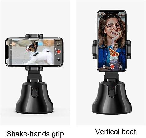 Fanville Auto Tracking Smart Shooting Holder 360 Grad Rotation Handyhalter Für Video Reocording Stabilizer Für Smartphones Küche Haushalt