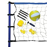 Hathaway Portable Volleyball Net/Posts/Ball and Pump Set