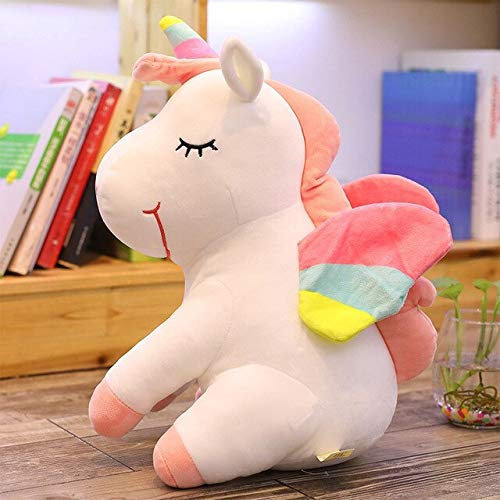 LAJKS Western Myth Pusheen Big Plush Toys Soft Stuffed Plush Doll with Wings Soft Pillow Girl Birthday Gift Licorne Must Have Tools Funny Gifts Toddler Favourite Must Haves for Kids Superhero Toys by LAJKS