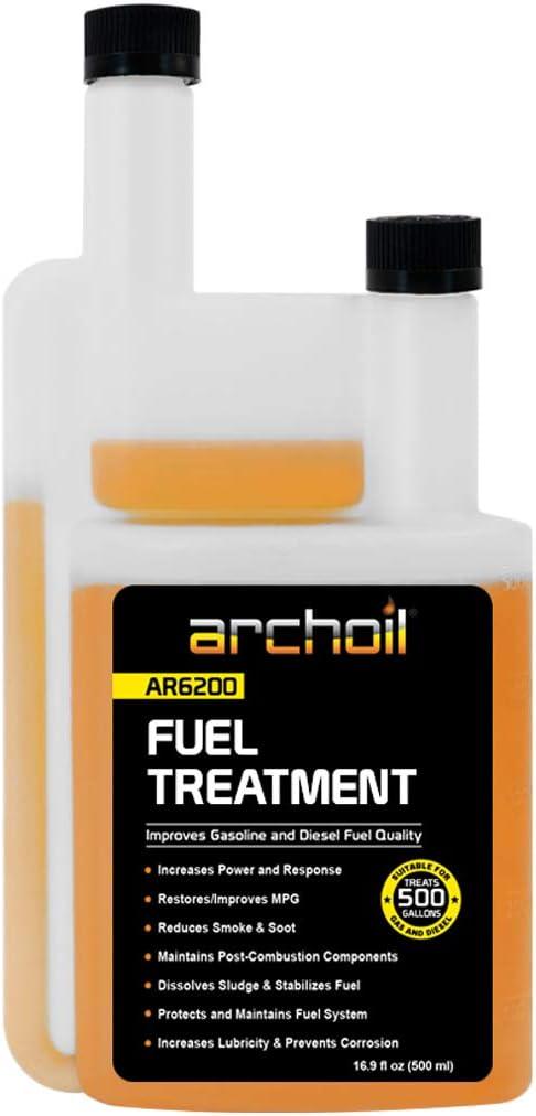 Amazon Com Archoil Ar6200 16 9 Ounces Fuel Treatment Treats 500 Gallons Diesel Additive Fuel Additive Automotive