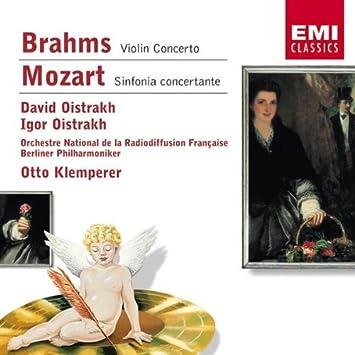 Con Vn [d]/Sinf Concertante [E - Brahms, Mozart: Amazon.de: Musik