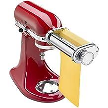 KitchenAid RKSMPSA Pasta Roller Sheet Attachment For All KitchenAid Mixers (CERTIFIED REFURBISHED)