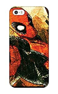 Excellent Iphone 5/5s Case Tpu Cover Back Skin Protector Deadpool by mcsharks
