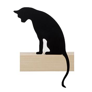 Artori Design CatS Meow | Figura Princess | Silueta de Gato Decorativa metálica | Estatuilla de