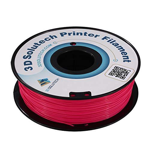3D Solutech Hot Pink 3D Printer Ultra PLA Filament 1.75MM Filament Dimensional