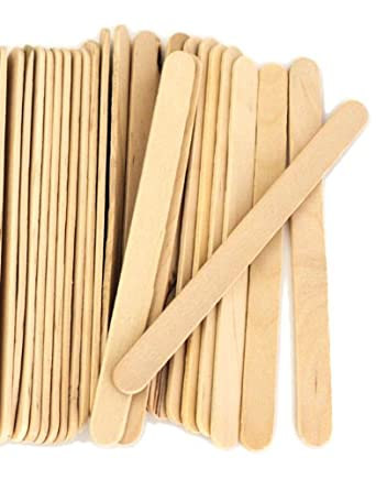 Perfect Stix ASO910B-200 Wooden Ice Cream Popsicle Stick Pack of 200 200ct
