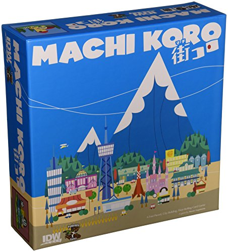 Machi Koro - City Stores Factory At Park