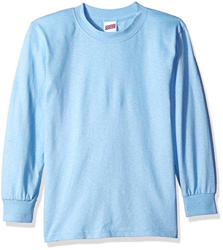 youth light blue tshirt - 1