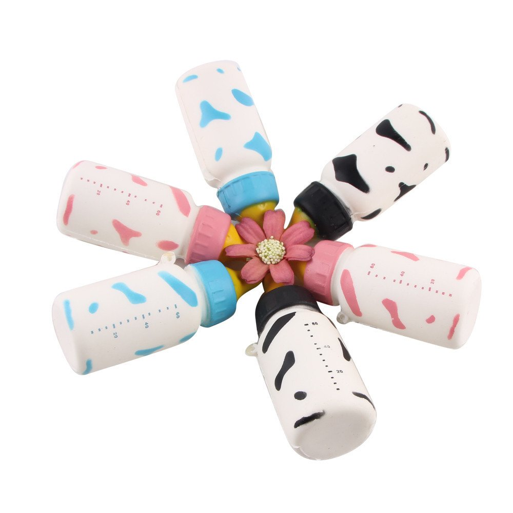 Clearance Stress Squeeze Toys,Soft Yogurt Bottle Scented Slow Rising Toys Gifts,Sensory Toys Stress Ball (Random)