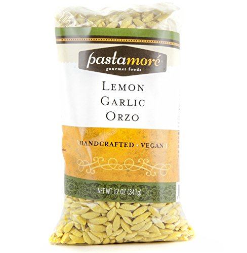 (Pastamore Pasta, Lemon Garlic Orzo, 12 Ounce)