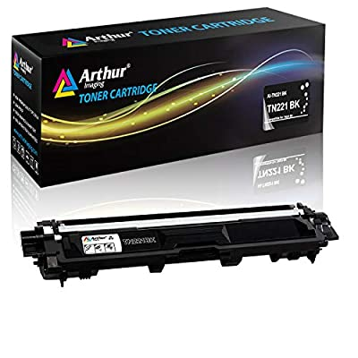 Arthur Imaging Elite Compatible Toner Cartridge Replacement for Brother TN221 (Black, 1-Pack)