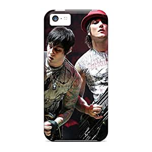 Anti-Scratch Cell-phone Hard Covers For Iphone 5c With Allow Personal Design Nice Avenged Sevenfold Pictures CharlesPoirier