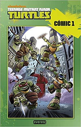 Tortugas Ninja. Cómic 1 (Cómics Ninja): Amazon.es ...