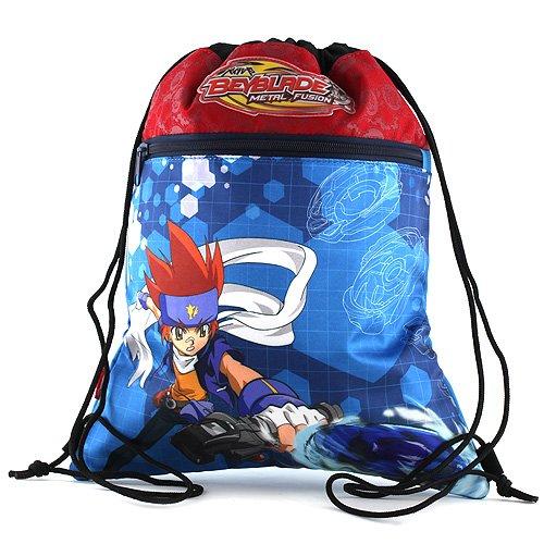 Hasbro Beyblade Cabas de Fitness 38 cm Multicolore (Bleu/Rouge) Target_11-2088