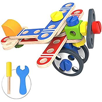 Amazon.com: Pidoko Kids Take Apart Toys with Tools (48 Pcs ...