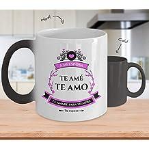 Taza Magica con Frase de Amor - Reactiva al Calor