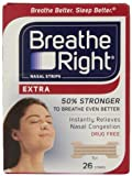 Breathe Right Nasal Strips, Extra, 104 Strips