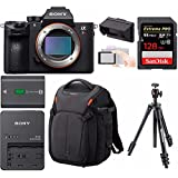 Sony Alpha a7RIII Mirrorless Digital Camera (Body Only) with Clip On LCD Monitor & Accessory Bundle
