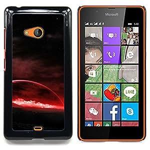 - Red Planet - - Cubierta del caso de impacto con el patr??n Art Designs FOR Microsoft Nokia Lumia 540 N540 Queen Pattern