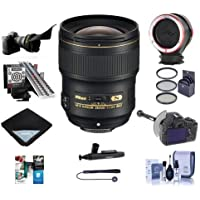 Nikon 28mm f/1.4E AF-S NIKKOR Lens USA - Pro Bundle With 77mm Filter Kit, Flex Lens Shade,FoocusShifter DSLR Follow Focus, LensAlign MkII Focus Calibration System, Peak Lens Changing Kit Adapter And More