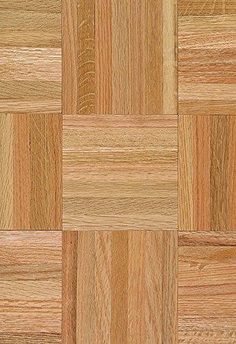 Armstrong 111110 Urethane Parquet Wood Backing Natural & Better Solid Oak Hardwood Flooring, Standard