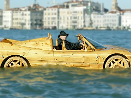 Homemade Wooden Ferrari Makes Waves In Venice for sale  Delivered anywhere in USA