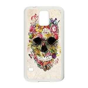 Skull Unique Design Cover Case for SamSung Galaxy S5 I9600,custom case cover ygtg556108