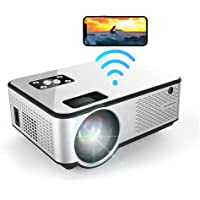 MO C9 Mini Projector WiFi Screen Mirroring AirPlay Miracast 1080P Full HD Support Indoor Outdoor Home Theater 200…