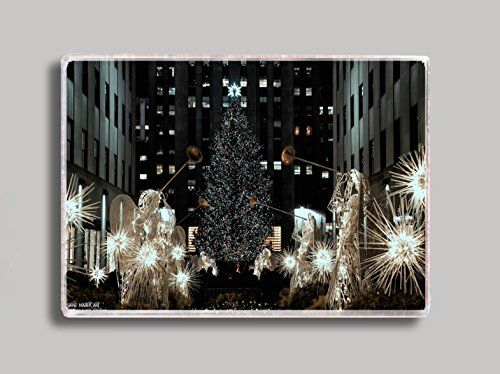 Rockefeller Center NYC Christmas Tree Refrigerator Magnet -