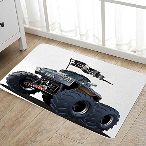 Cars Door Mat outside Popular Large Suspension Monster Truck