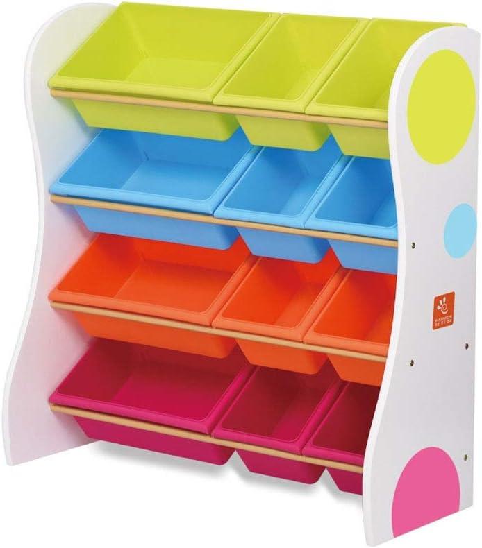 子供用おもちゃ収納ラック 子供の寝室のプレイルームのための色のプラスチック大箱の棚の引出しのおもちゃの貯蔵のオルガナイザー おもちゃ箱 ラック (Color : Primary color, Size : 86cm)