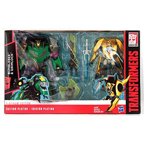 Transformers Platinum RID Grimlock and Bumblebee - -