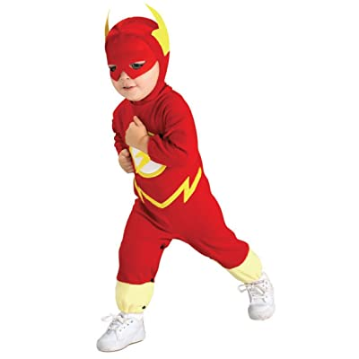 Justice League The Flash Costume Size: Toddler: Clothing